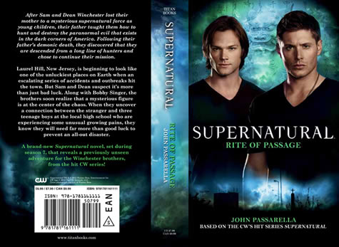Supernatural: Rite of Passage (Cover Flat)
