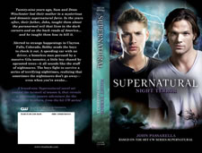 SUPERNATURAL: Night Terror cover flat - mouse over thumbnail to view larger image