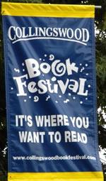 Collingswood Book Festival 2009 Banner