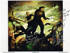 Zombie Riot - by David Seidman, Autographed by the artist, and by Preston and Steve, Zombie Slayers